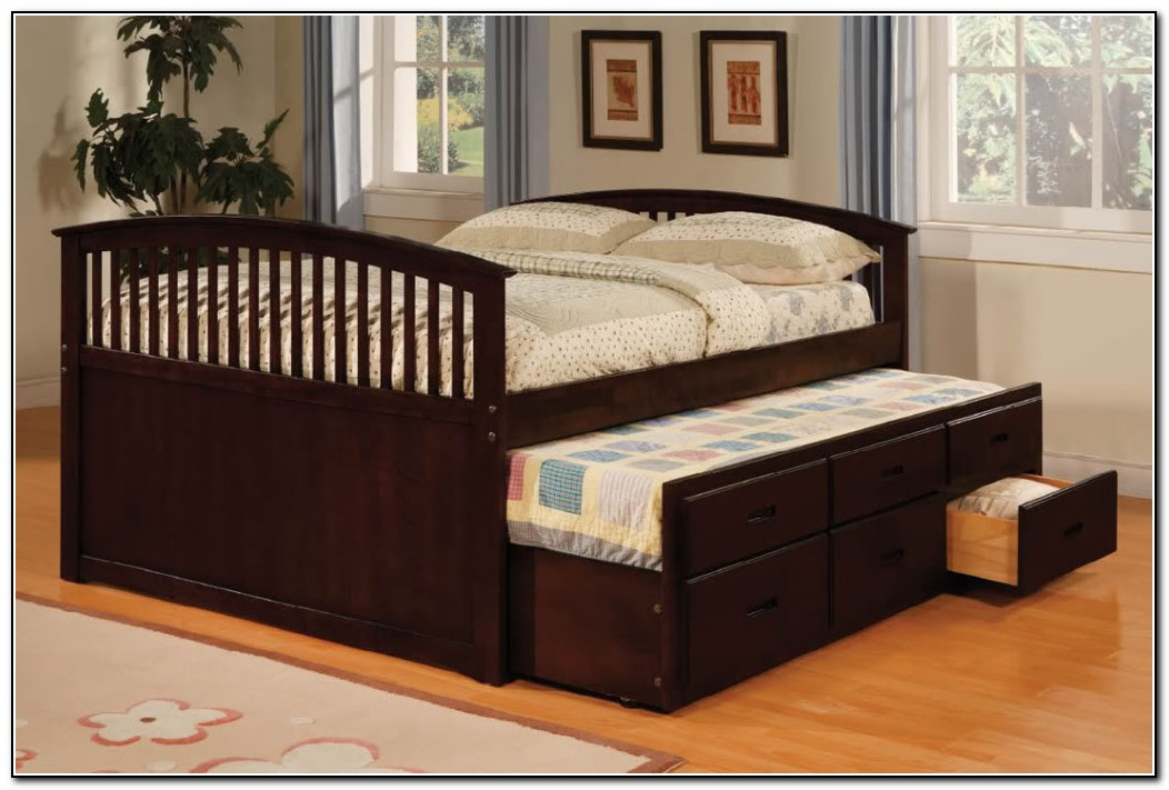 Full Size Beds With Trundle