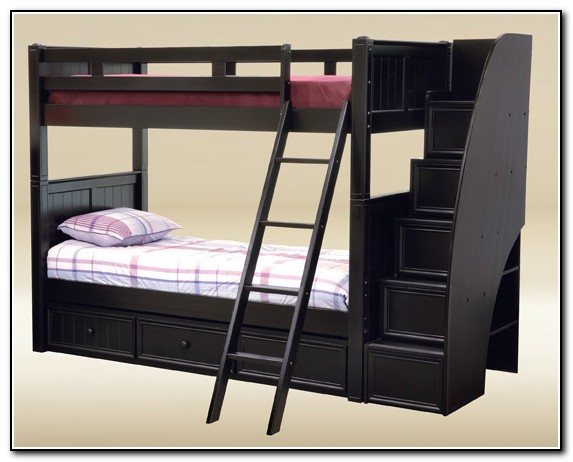 Full Size Bunk Beds With Stairs