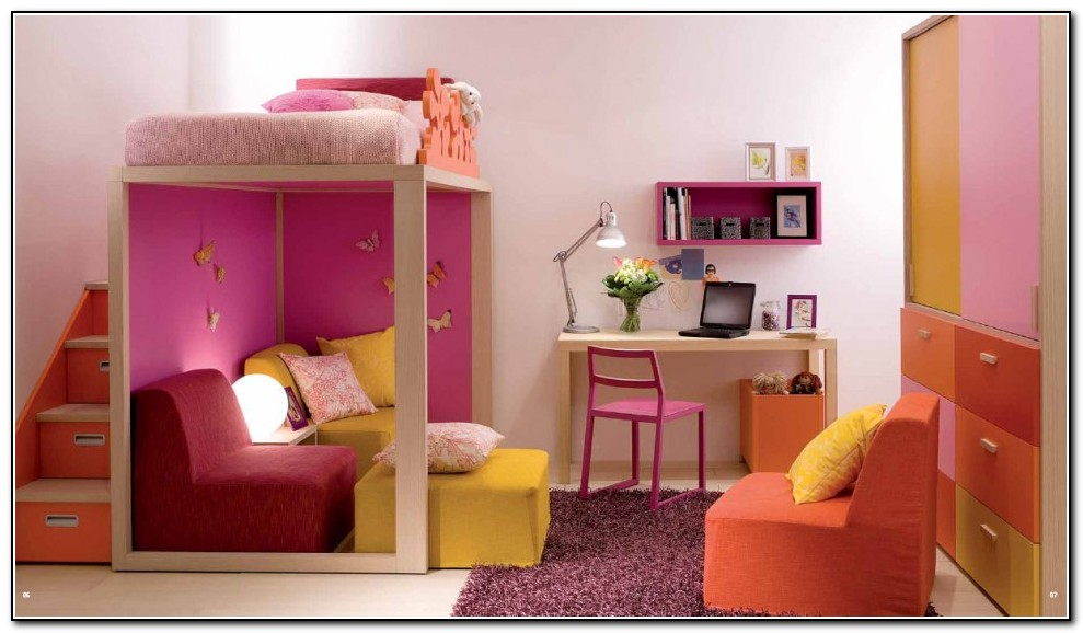 Girls Bunk Beds With Drawers