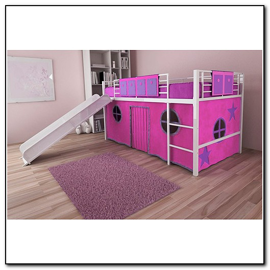 Girls Bunk Beds With Slide