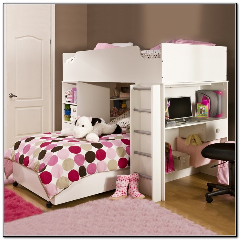 Girls Bunk Beds With Steps