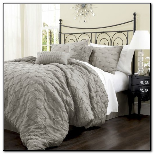 Gray California King Bedding