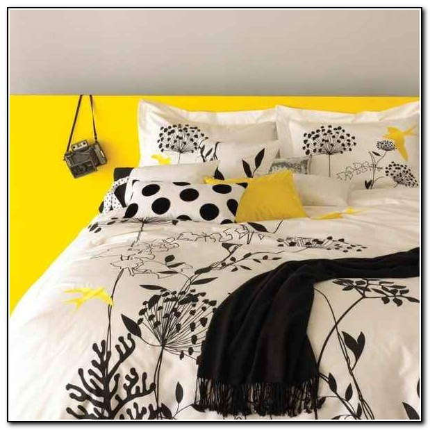Grey And Yellow Bedding Target