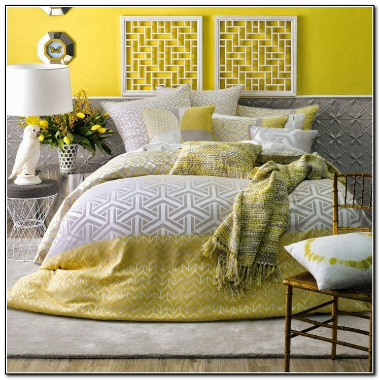 Grey And Yellow Bedding Uk