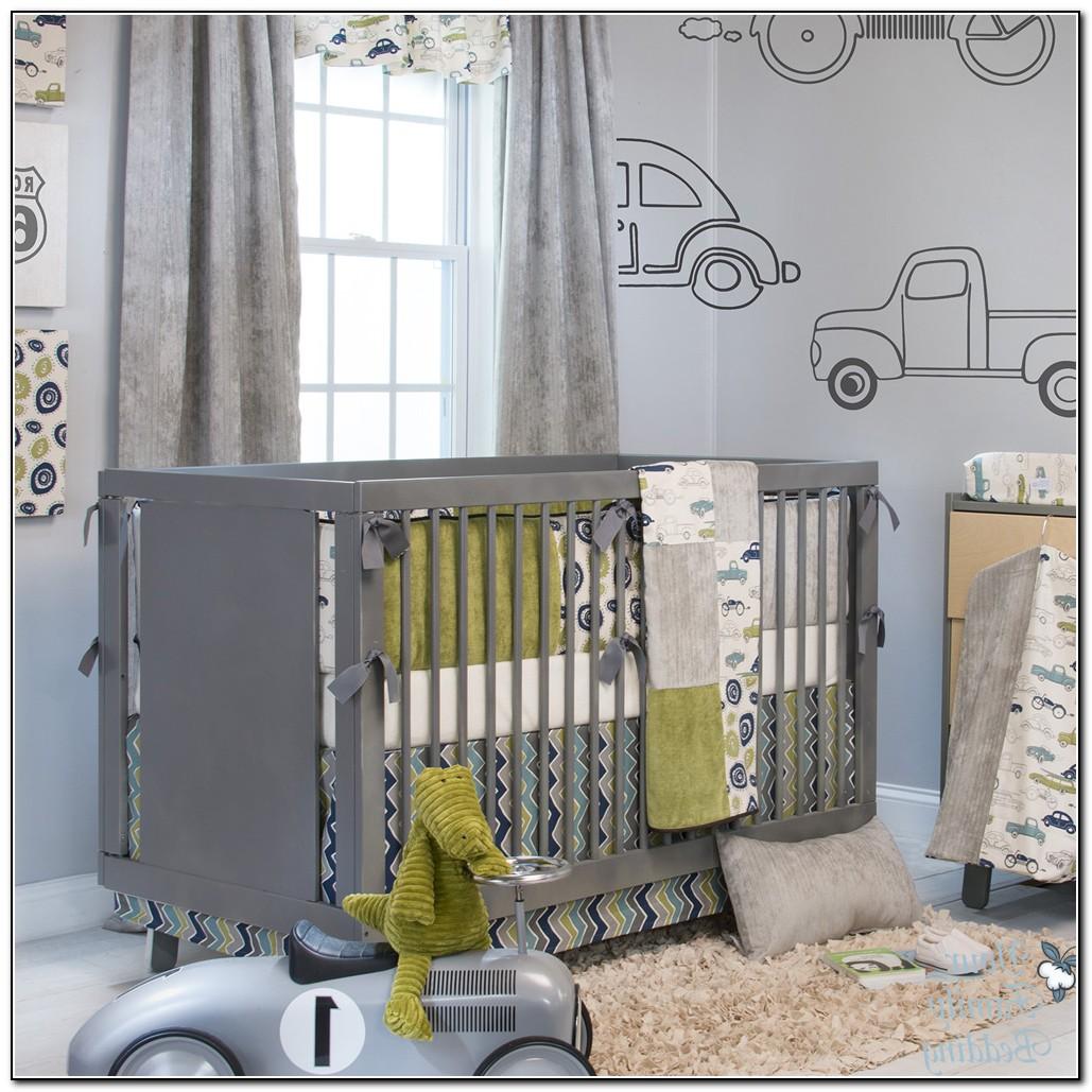 Grey Baby Bedding For Boys