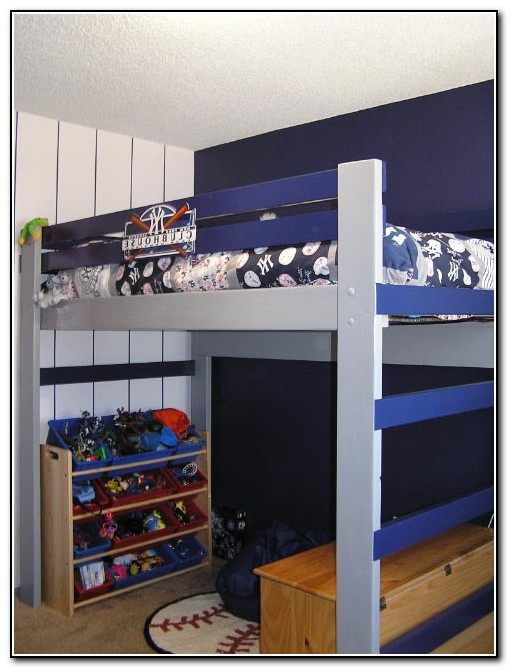 Kids Loft Bed Diy