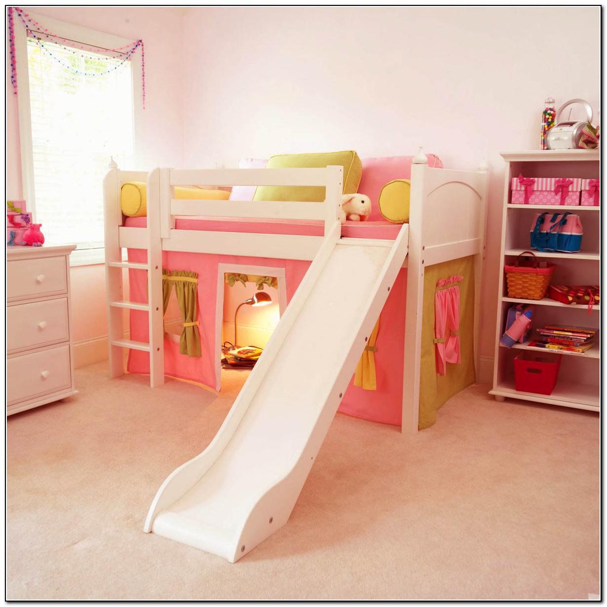 Kids Loft Bed With Slide