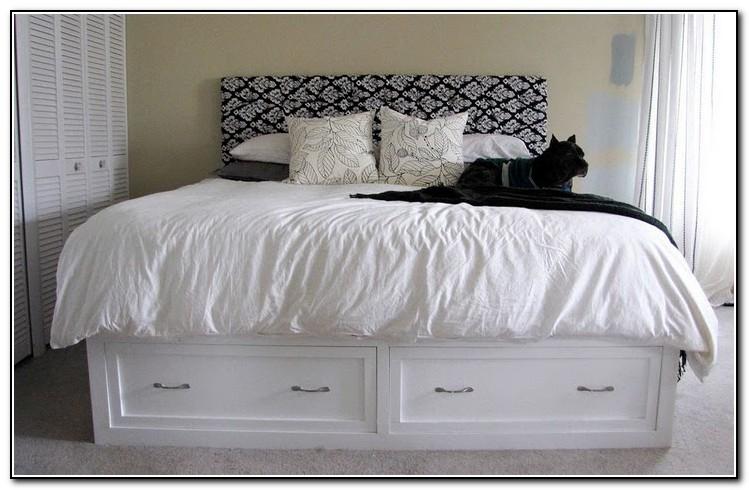 King Storage Bed Frame