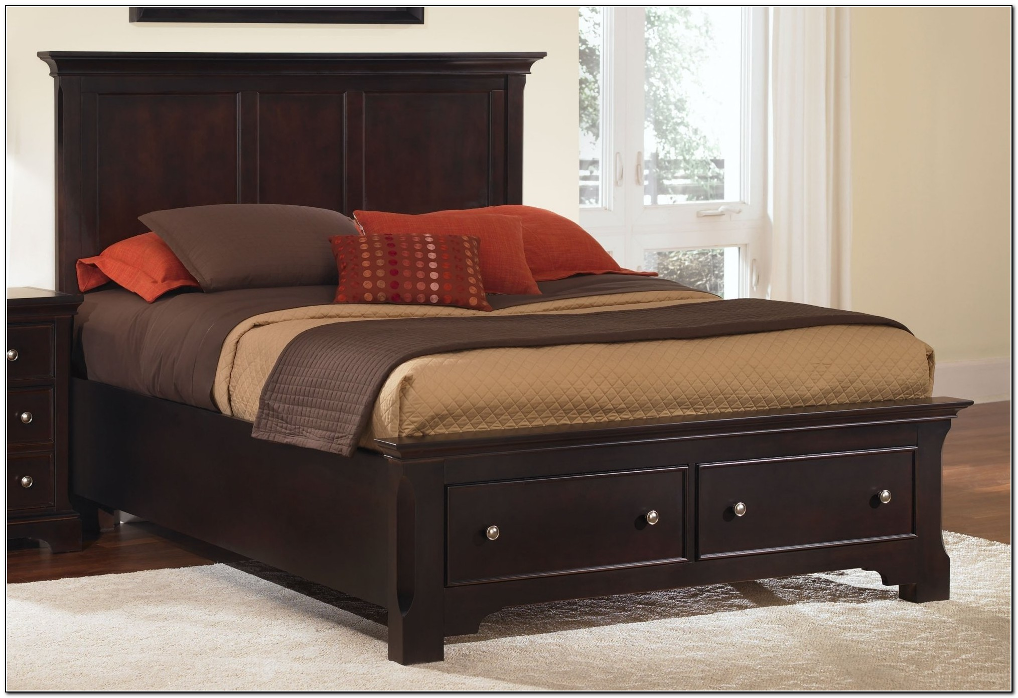 King Storage Bed Plans
