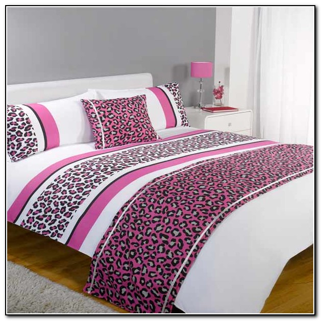 Leopard Print Bedding For Girls
