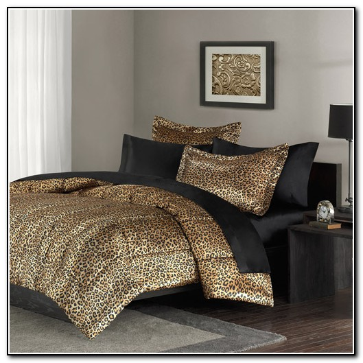 Leopard Print Bedding King Size