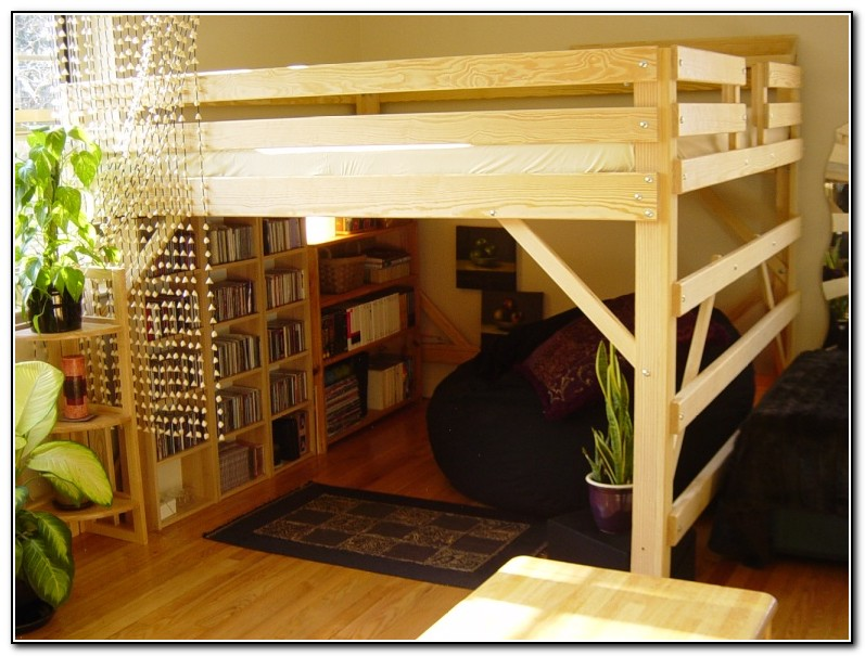 Loft Beds For Adults Plans