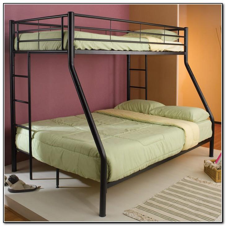 Metal Bunk Beds Twin Over Queen