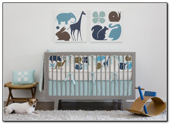 Modern Crib Bedding For Boys