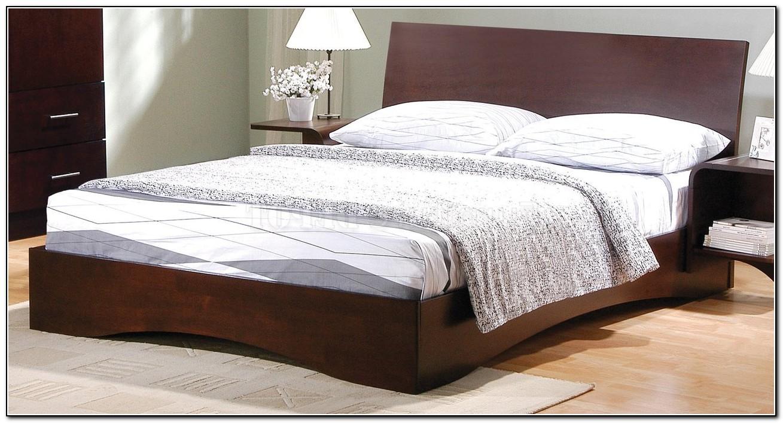 Modern Platform Bed Wood