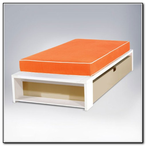 Modern Twin Trundle Bed