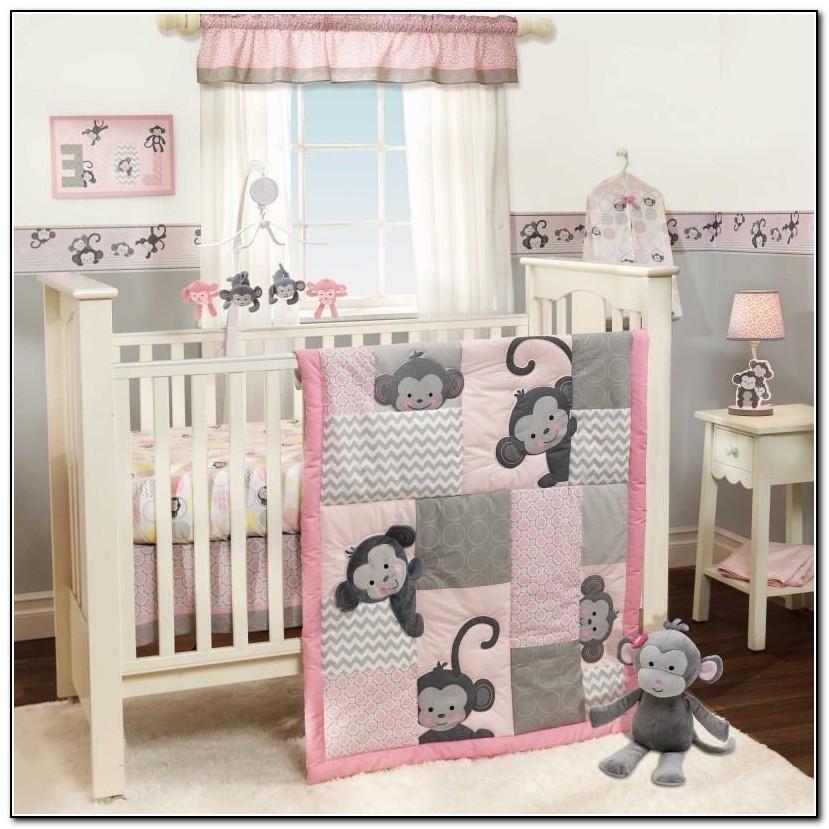 Monkey Crib Bedding For Girls