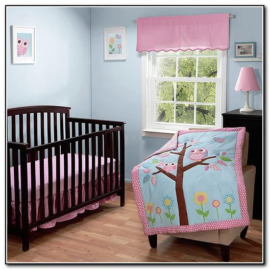 Owl Crib Bedding For Girls