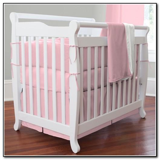 Pink Mini Crib Bedding