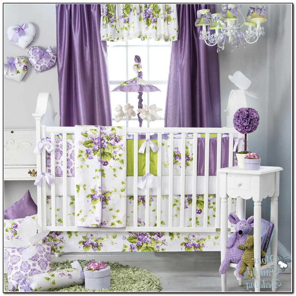 Purple Owl Baby Bedding