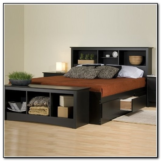 Queen Bed Frames With Drawers