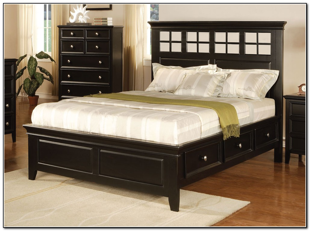 Queen Size Beds With Storage