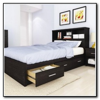 Queen Storage Bed Frame