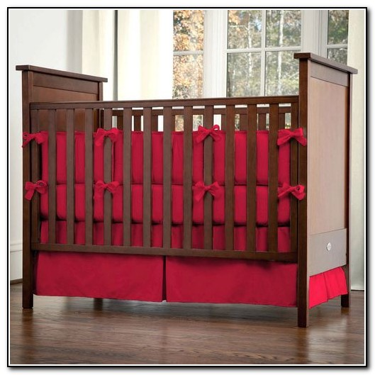 Red Crib Bedding For Girls