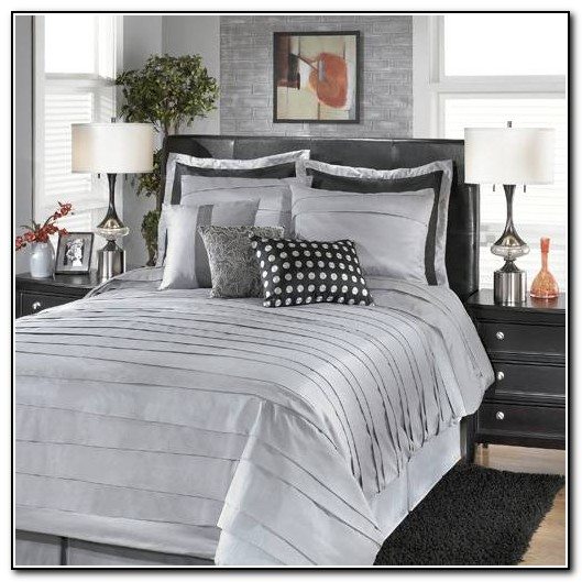 Silver Bedding Sets King