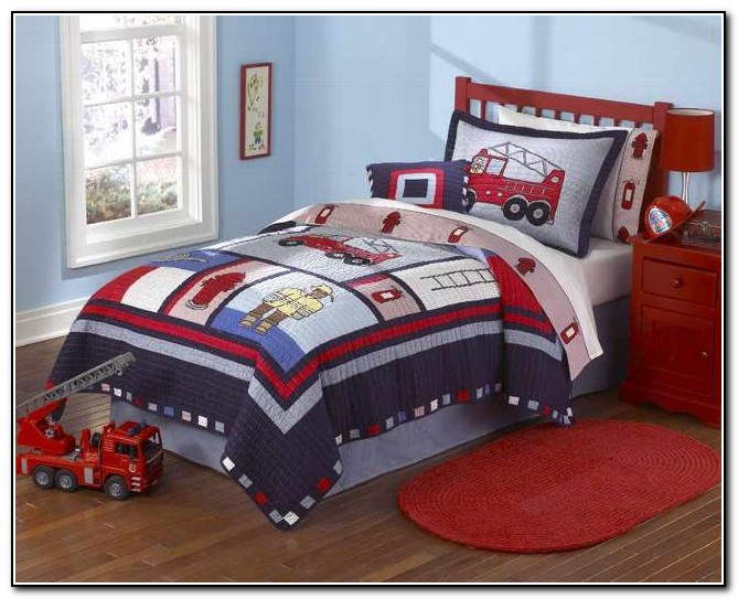 Toddler Bedding For Boys Trains