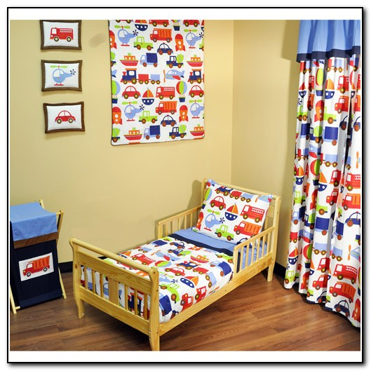 Toddler Bedding For Boys Transportation