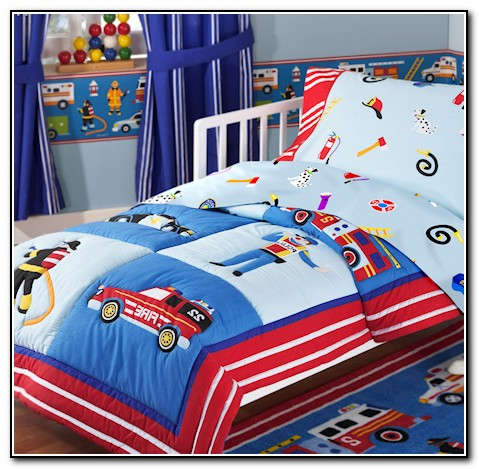 Toddler Bedding For Boys Trucks