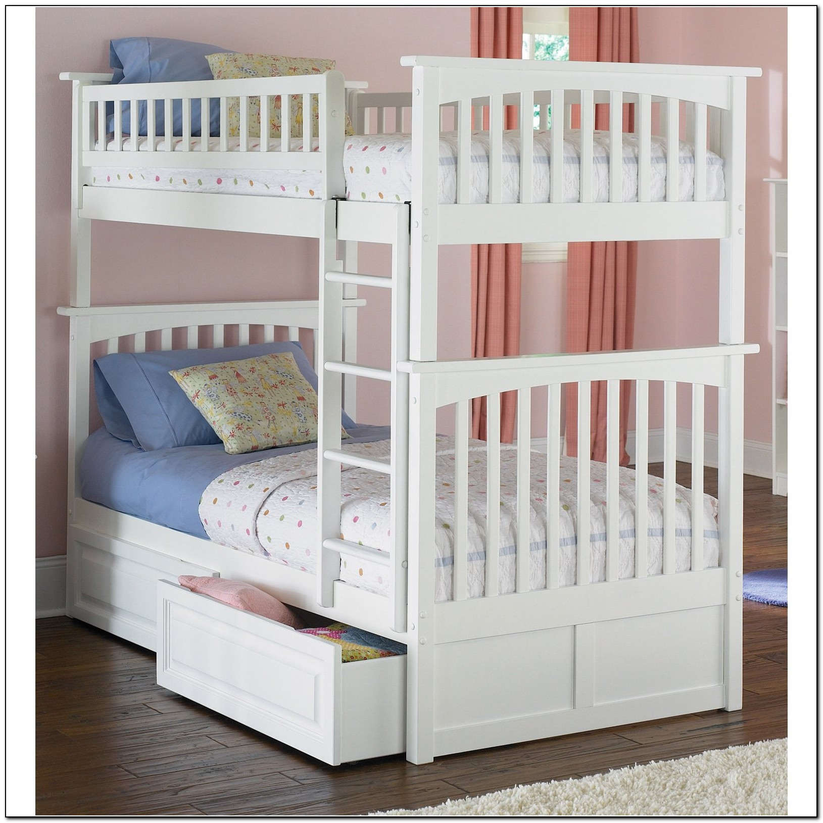 Twin Bunk Beds For Girls