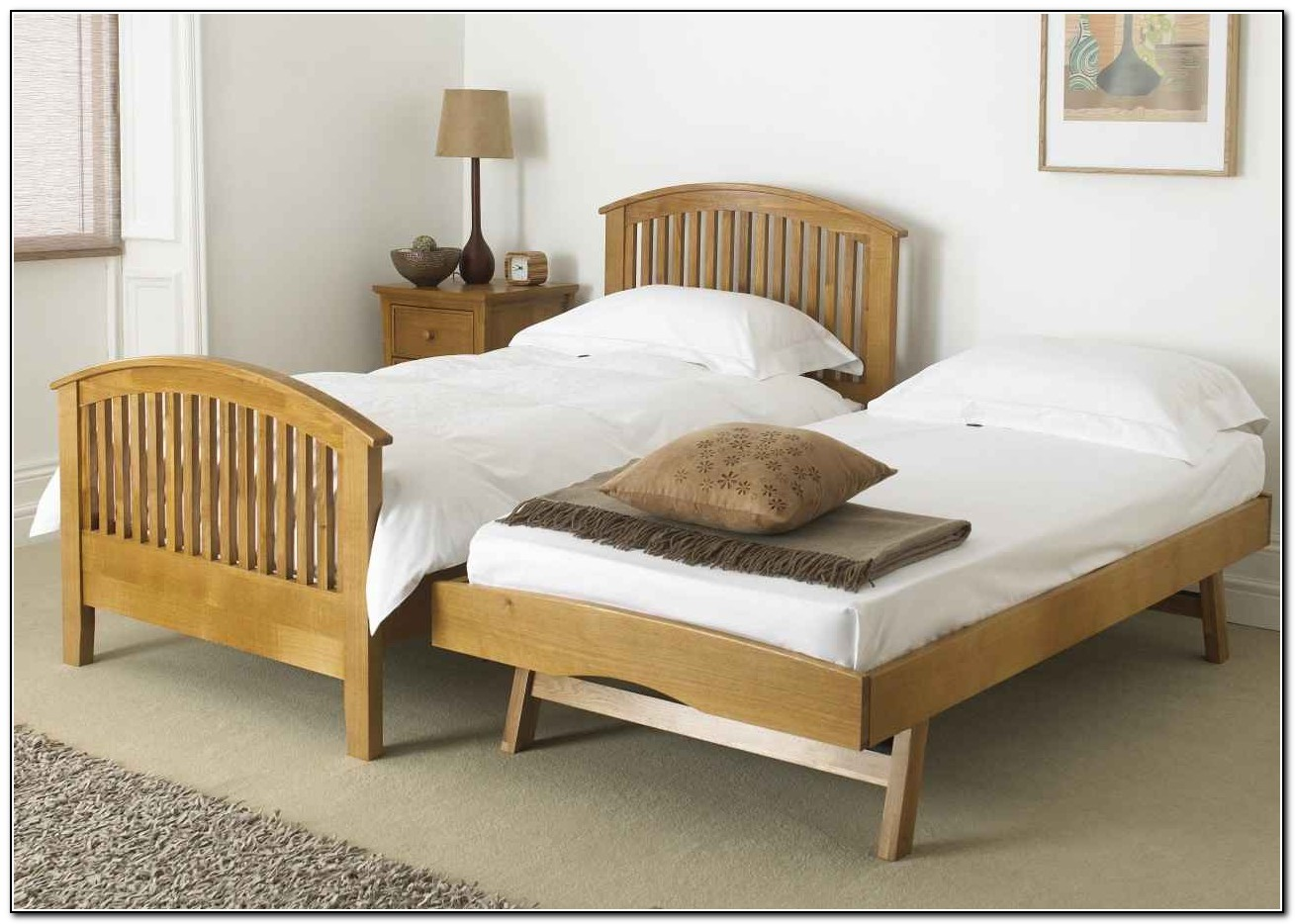 Twin Pop Up Trundle Bed