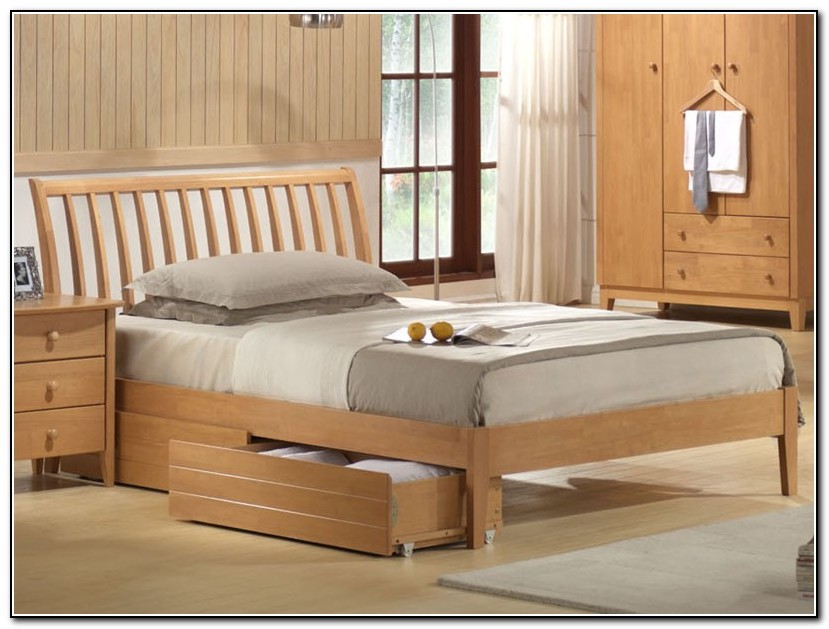 Wooden Bed Frames Double