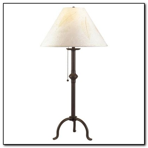 Wrought Iron Bedside Lamps