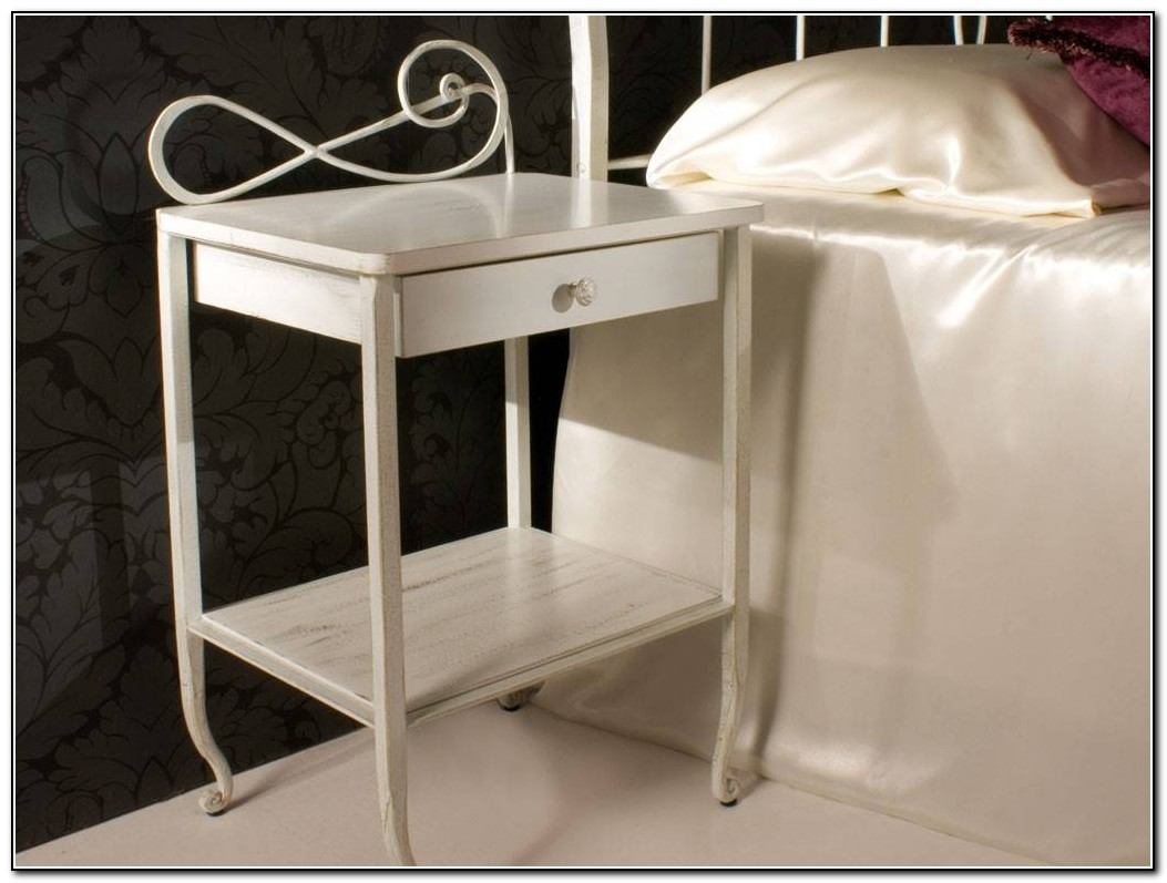 Wrought Iron Bedside Tables
