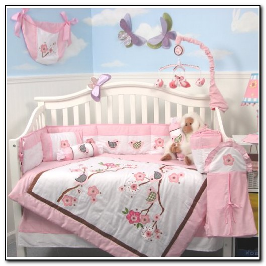 Baby Girl Nursery Bedding Birds
