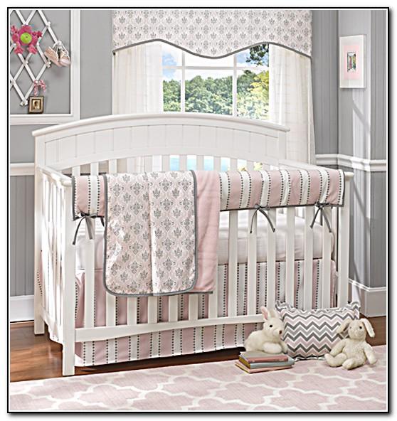 Baby Girl Nursery Bedding Chevron