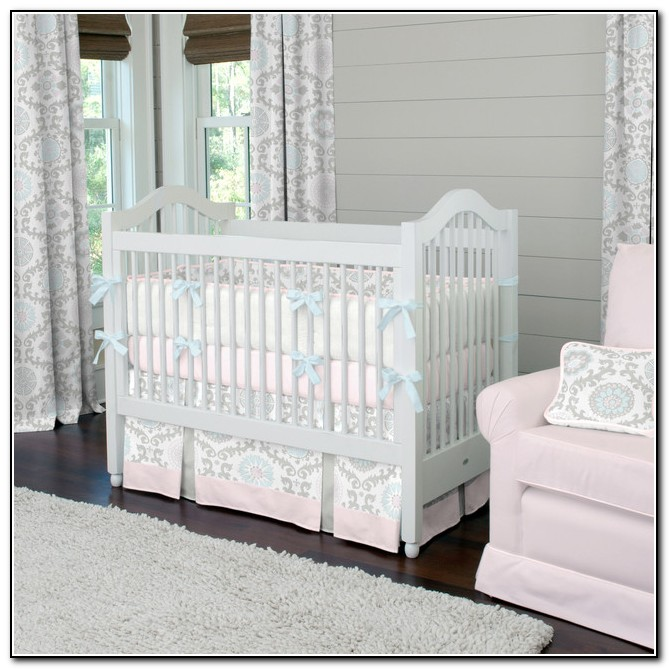 Baby Girl Nursery Bedding Pink And Grey