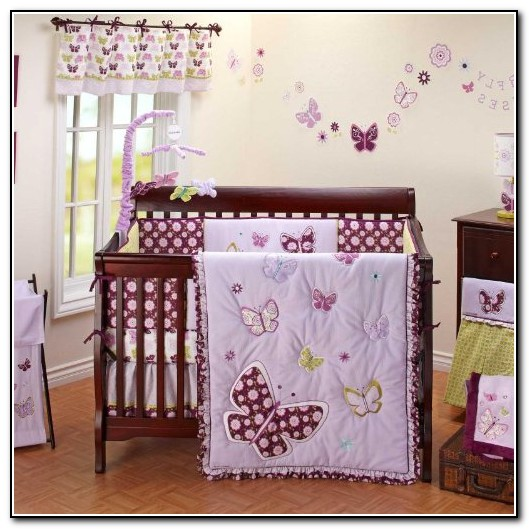 Baby Girl Purple Bedding Sets
