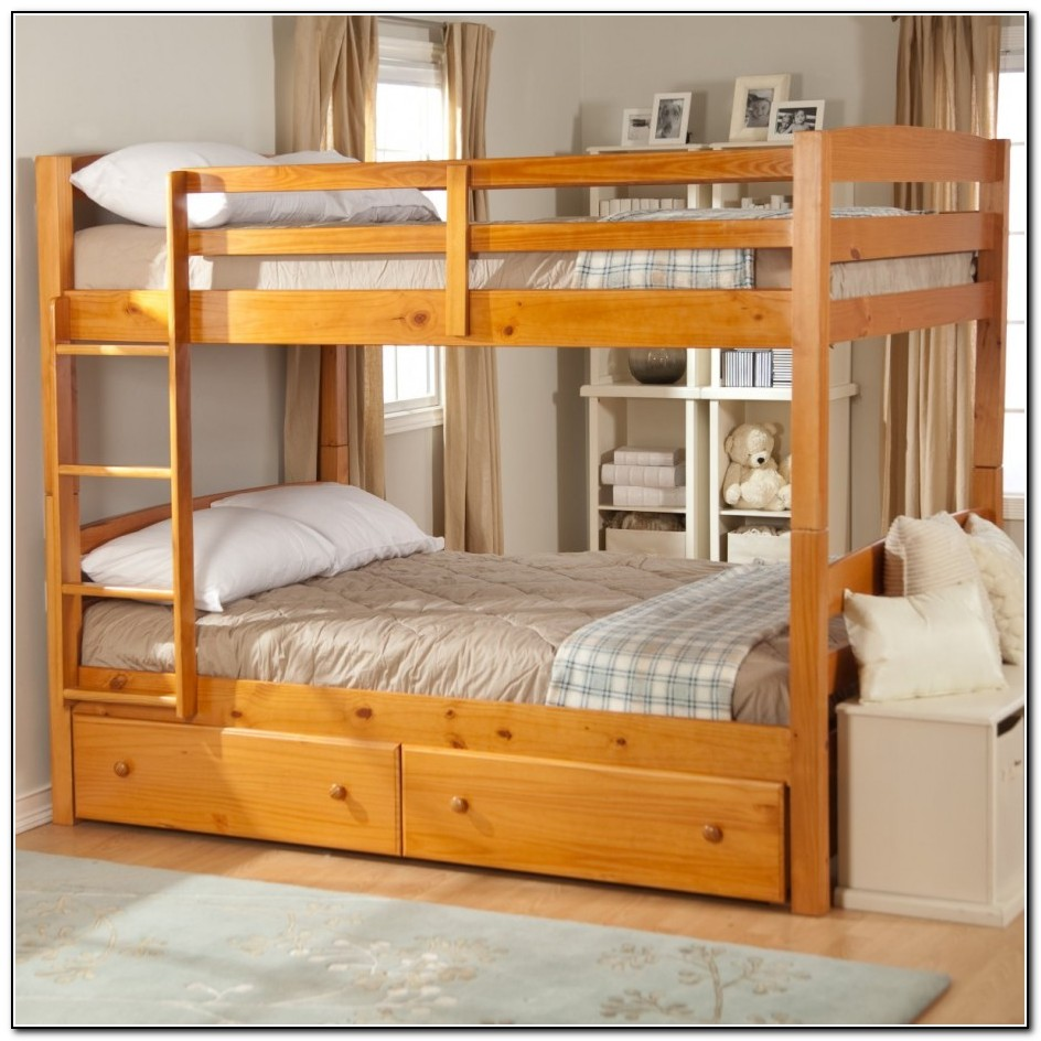 Beds With Drawers And Shelves