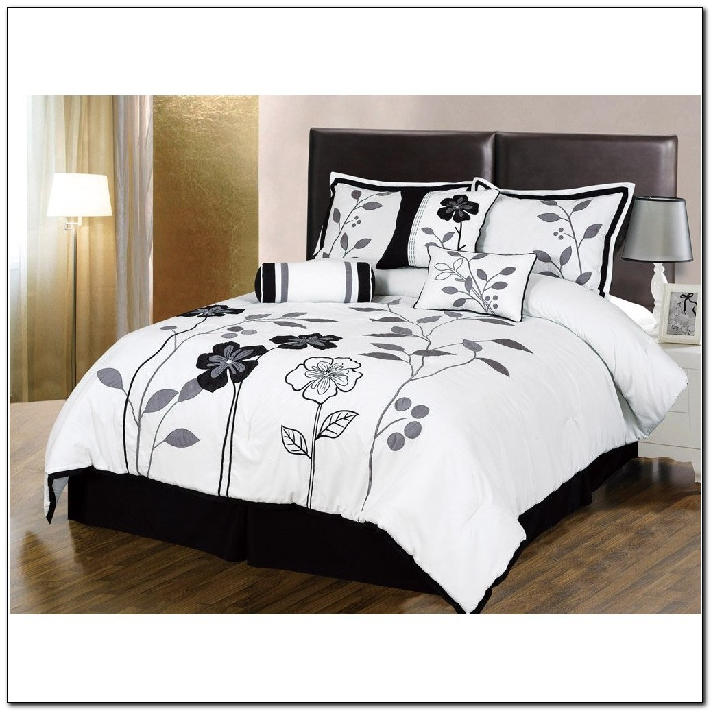 Black And White Bedding Sets Amazon