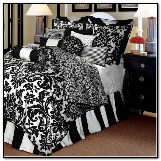 Black And White Bedding Sets Full
