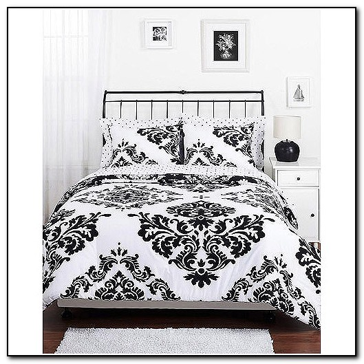 Black And White Bedding Sets Walmart
