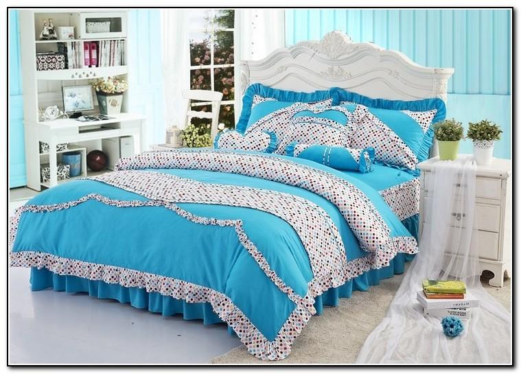 Blue Bedding For Girls
