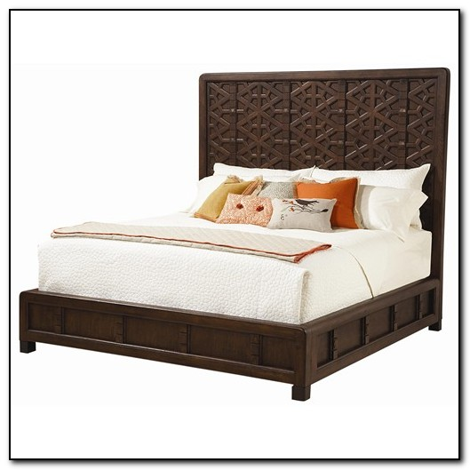 California King Platform Bed With Headboard