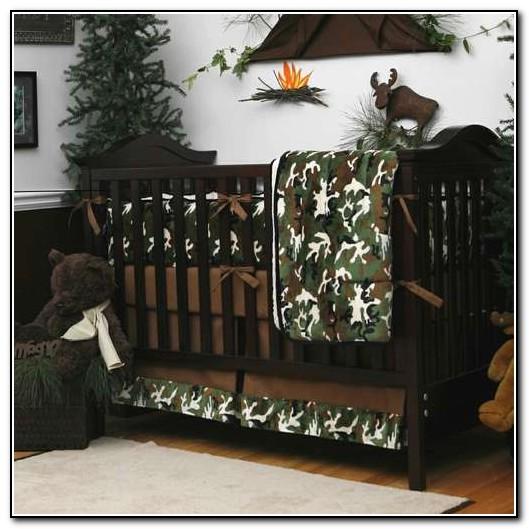 Camo Crib Bedding For Boy