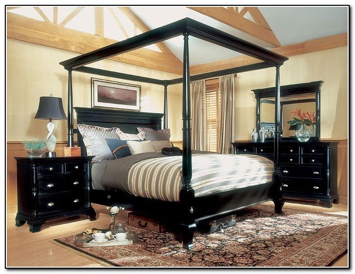Canopy King Size Bed Sets