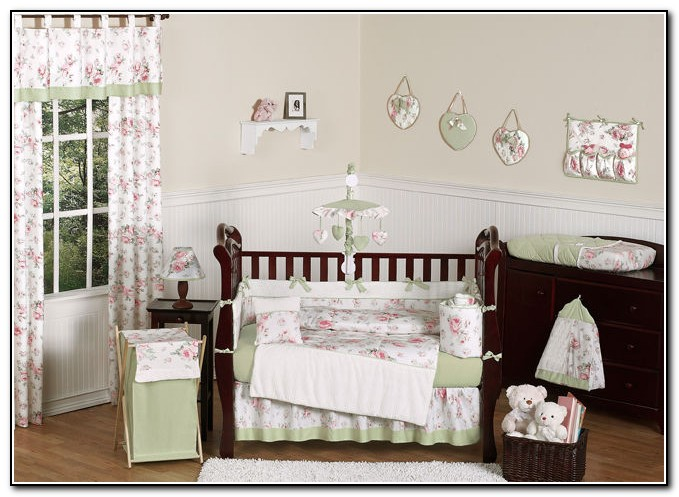 Crib Bedding Sets For Girls Cheap